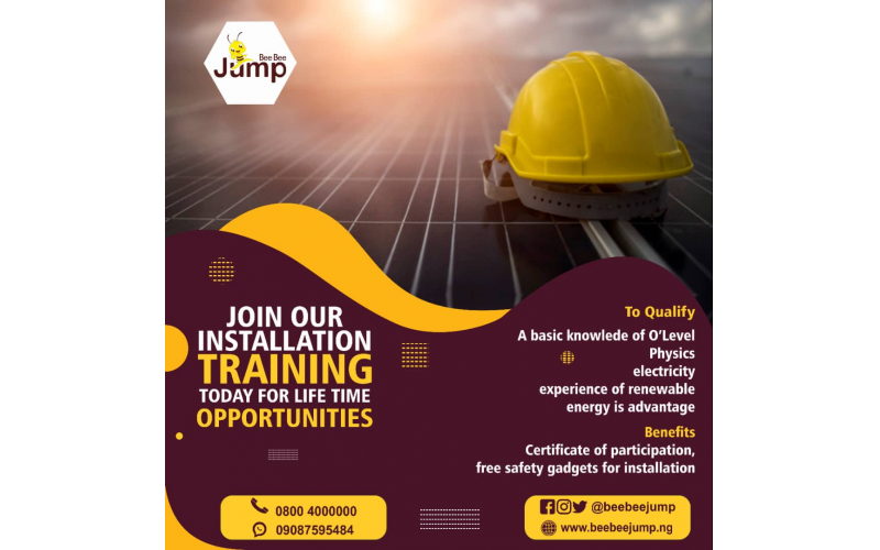Solar installation training in Port Harcourt (Rivers State)